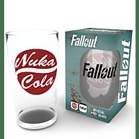 EMPIRE Fallout - Nuka Cola  Motiv 1 - Glas Glas, Mehrfarbig