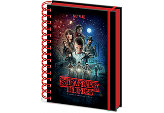 Stranger Things - One Sheet - Premium Lizenz-Notizbuch