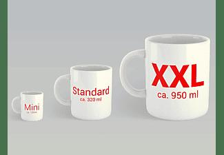 Giant Tasse - Hendrix, Jimi - Logo - XXL Lizenz Keramik-Tasse