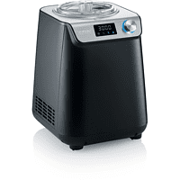 SEVERIN EZ 7407 Eismaschine (135 Watt, Matt Schwarz)