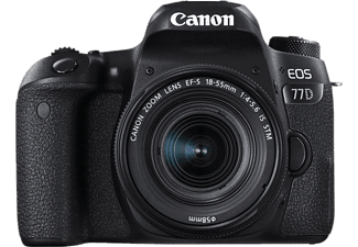 CANON Reflex camera EOS 77D + 18 - 135 mm IS USM (1892C034)