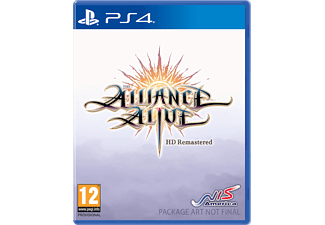 The Alliance Alive HD Remastered Day One Edition FR/NL PS4