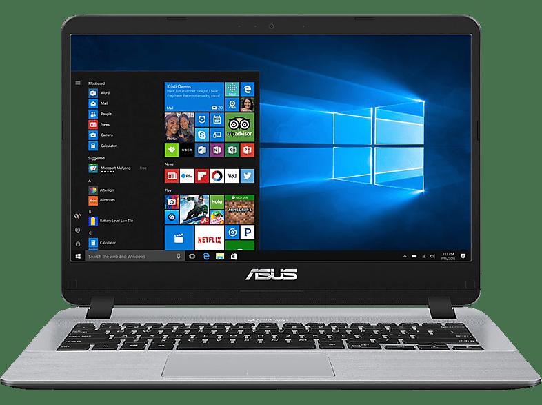ASUS Vivobook 14 (R410UA-EB623T), Notebook mit 14.0 Zoll Display, Core™ i5 Prozessor, 8 GB RAM, 1 TB HDD, 256 GB SSD, Intel® UHD-Grafik 620, Stary Grey