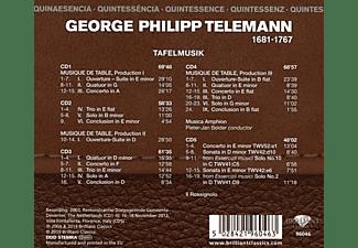 Musica Amphion, Il Rossignolo - Telemann:Tafelmusik (Quintessence)  - (CD)