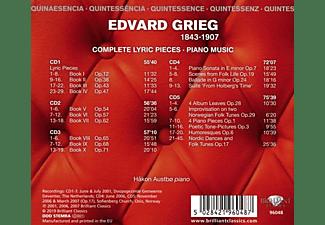 Hakon Austbo - Grieg:Complete Lyric Pieces,Piano Music  - (CD)