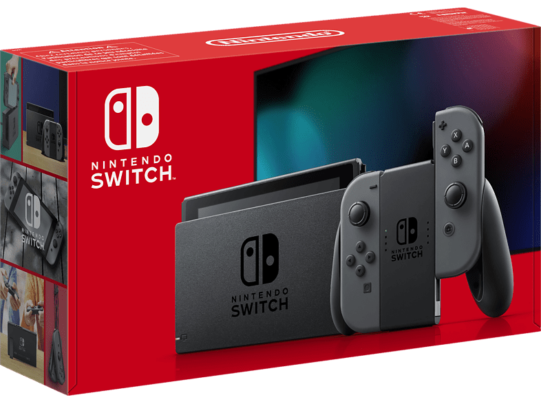 NINTENDO Switch Grau neue Edition