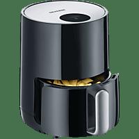 SEVERIN FR 2455 Heißluftfritteuse 900 Watt Schwarz/Silber