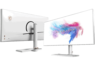 MSI Gaming Monitor Prestige PS341WU, 34 Zoll, weiß (9S6-3DA19A-002)
