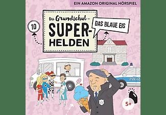 Die Grundschul-superhelden - 010 - DAS BLAUE EIS  - (CD)