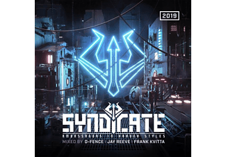 VARIOUS - SYNDICATE 2019 - AMBASSADORS IN HARDER STYLES  - (CD)