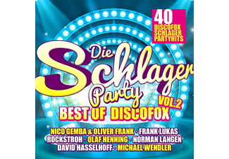VARIOUS - DIE SCHLAGERPARTY VOL. 2 - BEST OF DISCOFOX  - (CD)