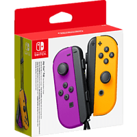 NINTENDO Switch Joy-Con 2er-Set Controller Controller, Neon-Lila/Neon-Orange
