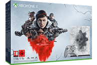 MICROSOFT Xbox One X 1TB - Gears 5 Limited Edition Bundle