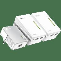 TP-LINK AV600 WLAN-Powerline-Extender 3er Set