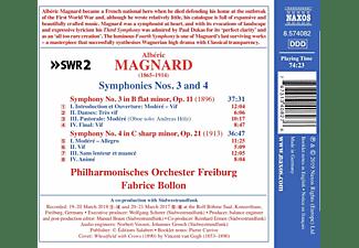 Philharmonisches Orchester Freiburg - Sinfonien 3 and 4  - (CD)