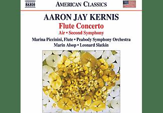 Leonard Slatkin, Peabody Symphony Orchestra, Marina Piccinini - Flute Concerto/Air/Second Symphony  - (CD)