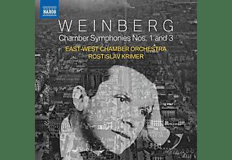 Rostislav Krimer, East-west Chamber Orchestra - Chamber Sinfonien 1 and 3  - (CD)
