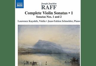 Laurence Kayaöeh, Jean-fabien Schneider - Sämtliche Werke für Violine und Klavier Vol.1  - (CD)