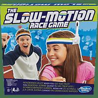 HASBRO The Slow Motion Race Game Gesellschaftsspiel, Mehrfarbig