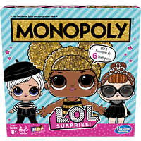 HASBRO GAMING Monopoly L.O.L. SURPRISE! Gesellschaftsspiel Mehrfarbig