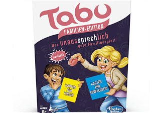 HASBRO GAMING Tabu Familien Edition Gesellschaftsspiel Mehrfarbig