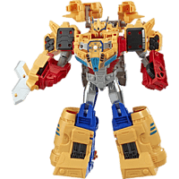 TRANSFORMERS Transformers Cyberverse Spark Armor Ark Power Optimus Prime Actionfigur, Mehrfarbig