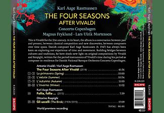 Lars Ulrik Mortensen, Concerto Copenhagen - The Four Seasons-After Vivaldi  - (CD)
