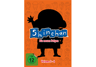 Shin Chan Vol.1-4 DVD