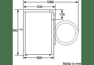SIEMENS WT47XM40 Wärmepumpentrockner (8 kg, A+++)