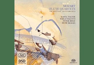 Karel Valter, Pablo Valetti, Peter Biely, Petr Skalka - Flute Quartets on Period Instruments K 285,285 A  - (SACD Hybrid)
