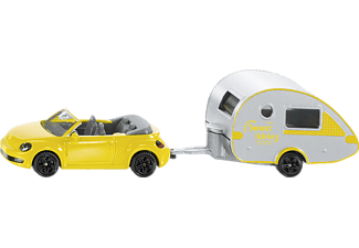 SIKU PKW mit Wohnanhänger Spielzeugmodell Farbauswahl nicht möglich