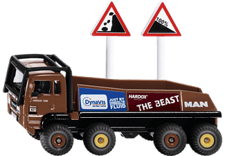 SIKU HS Schoch 8X8 MAN Truck Trial Spielzeugmodell Mehrfarbig