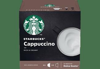 STARBUCKS CAPPUCCINO BY NESCAFE DOLCE GUSTO Kaffeekapseln (Kapselmaschine)