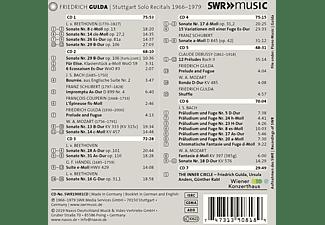 Friedrich Gulda - Friedrich Gulda: The Stuttgart Solo Recitals  - (CD)
