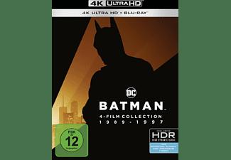 Batman 1-4 4K Ultra HD Blu-ray + Blu-ray