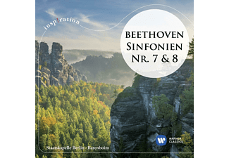 Staatskapelle Berlin - Sinfonien 7 & 8  - (CD)