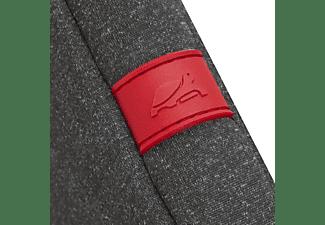 RIVACASE Antischock Notebooktasche Sleeve für Universal Memory Foam Neopren, Grau meliert