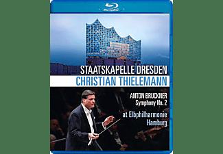 Staatskapelle Dresden, Thielemann Christian - BRUCKNER SYMFONIE NO 2 HAMBURG 2019  - (Blu-ray)