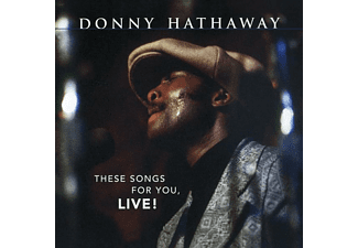 Donny Hathaway - THESE SONGS FOR YOU,..  - (CD)