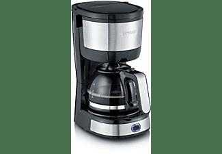 SEVERIN KA 4808 Kaffeemaschine Edelstahl-geb./Schwarz
