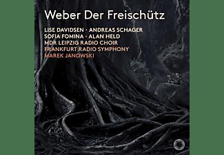Lise Davidsen, Schager, Janowski, Hr-sinfonieorchester - Der Freischütz  - (SACD)