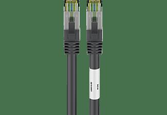 GOOBAY CAT 8.1 S/FTP LSZH CU, Netzwerkkabel, 25 m