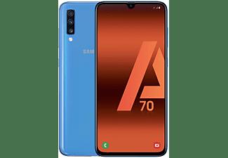 "Móvil - Samsung Galaxy A70, Azul, 128 GB, 6 GB RAM, 6.7"" Full HD+, SM6150, 4500 mAh, Android"