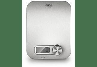 Balanza de cocina - Caso Kitchen Energy, 5000 gr, Pantalla digital, Inox
