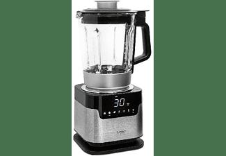 Batidora - Caso Cooking Blender CB 2200, 4 cuchillas, LED, Temporizador, Inox