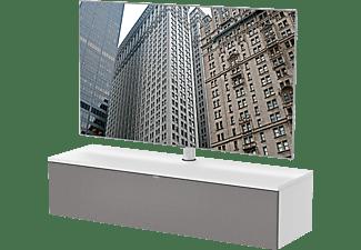 LUGANO LU-130-SNG-GRF+LU-SB1+LU-TV1 Komplett-Paket Weiss TV-Rack