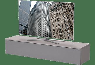 LUGANO LU-160-GR-GRF BASIS-PAKET Grau TV-Rack