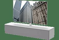 LUGANO LU-160-SNG-GRF+LU-TV1 TV-Paket Weiss TV-Rack