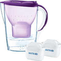 BRITA 100889 MARELLA, INKL 2 MAXTRA+ Wasserfilter, Violett