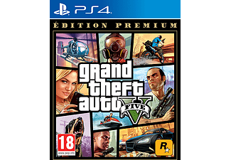 GTA V Premium Edition FR PS4